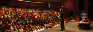 1500 students at NW Missouri State University captivated