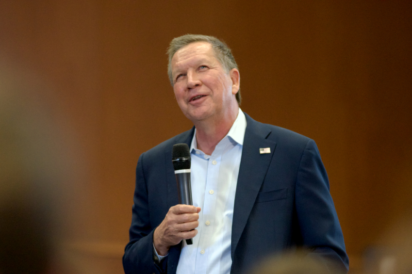 John Kasich addressed sexual assault in a Town Hall Meeting