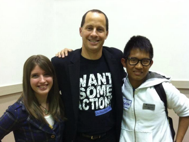 Students with Mike Domitrz