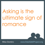 asking first is the ultimate sign of romance