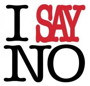 saying-no